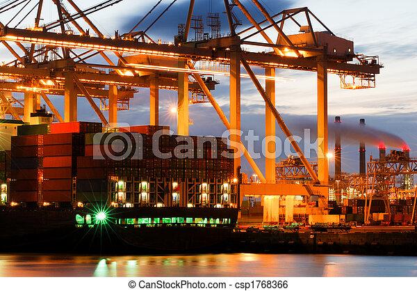 Container terminal activity - csp1768366