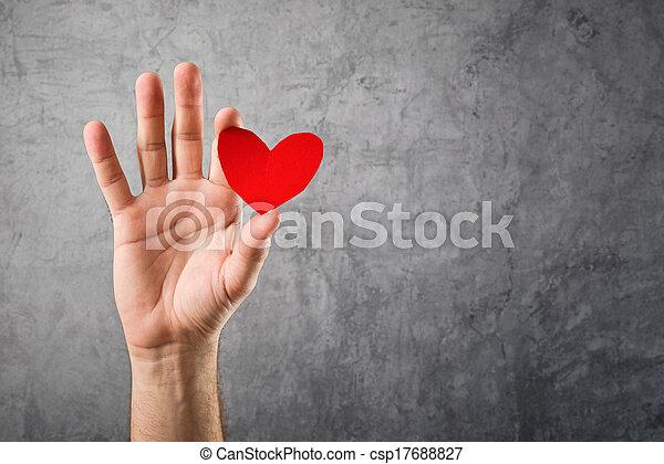 ser, conceito,  valentines,  Valentine, meu, Dia - csp17688827