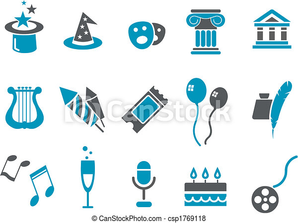Entertainment Icon Set - csp1769118