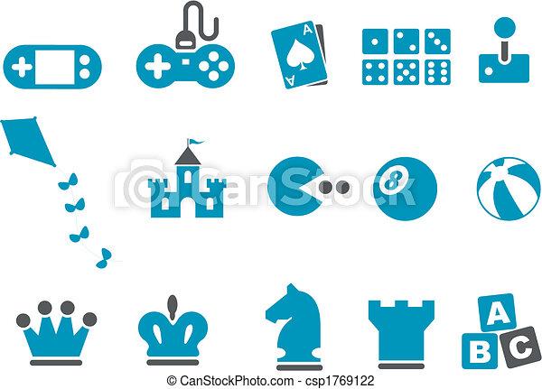 Games Icon Set - csp1769122