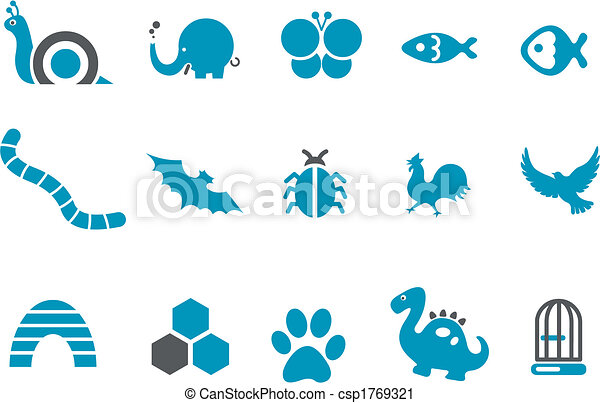 Animals Icon Set - csp1769321