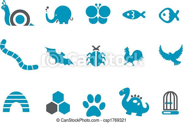Animals Icon Set - csp1769321