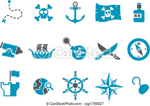 Pirate Icon Set - csp1769327
