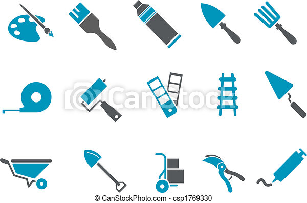 Tools icon set - csp1769330