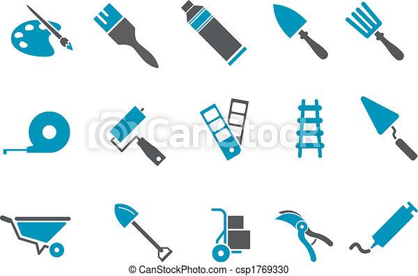 Tools icon set - csp1769330