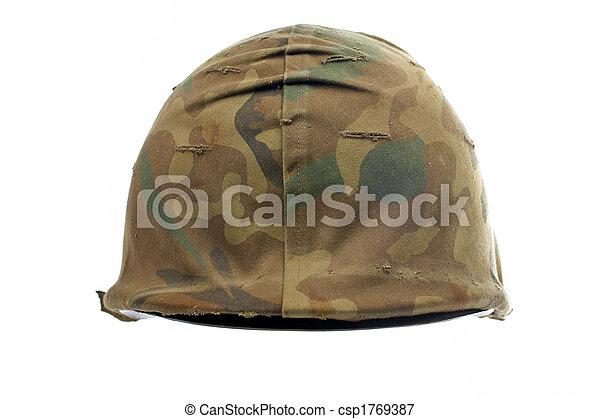 Military helmet - csp1769387