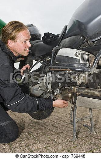 A motorist having problems - csp1769448