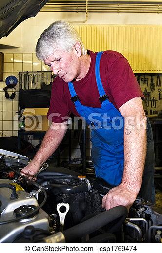 Motor mechanic - csp1769474