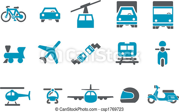 Transport Icon Set - csp1769723