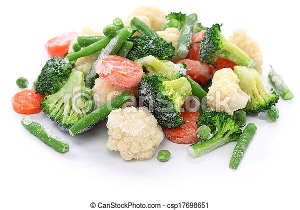 homemade frozen vegetables - csp17698651