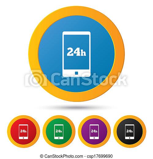 Emergency call. 24 hour service. Call center. - csp17699690