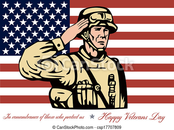 Happy Veterans Day Logo Happy Veterans Day Greeting