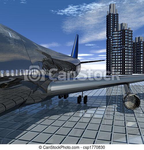 airliner  - csp1770830
