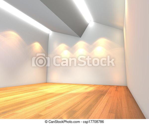 Stock illustratie van lege kamer witte muur plafond tanding thuis csp17708786 zoek - Witte muur kamer ...