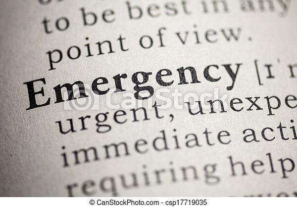 緊急事件 - csp17719035