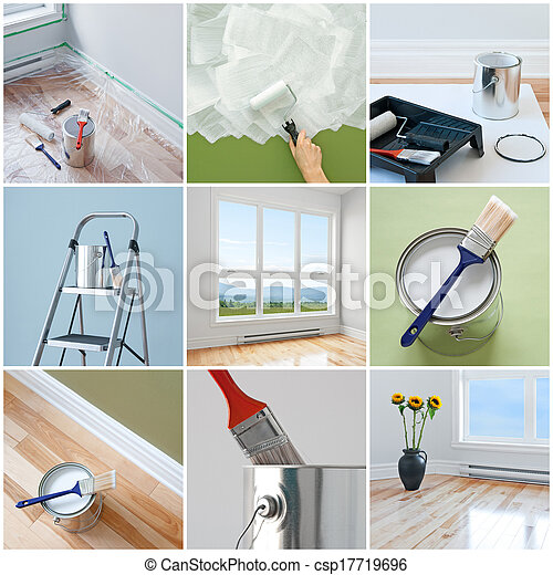 Renovations in a modern home - csp17719696