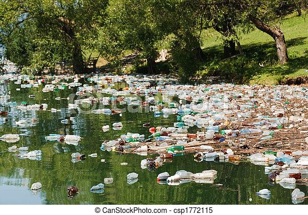 plastic pollution - csp1772115