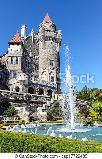 Canadian Landmark: Castle in Toronto - csp17722485