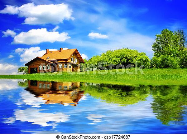 New summer  house - csp17724687