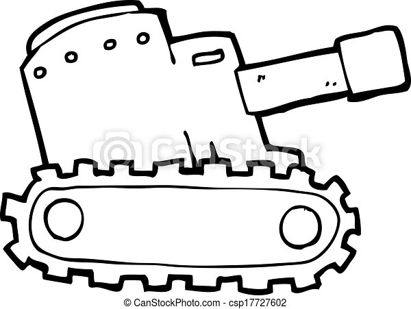 Vector Clipart of cartooon army tank - cartoon army tank ...