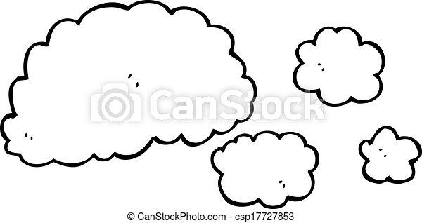 Cloud Cartoon Drawing Cloud of Smoke Cartoon Element