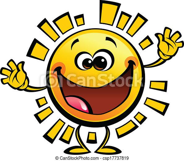 Sun Shining Drawing Cartoon Yellow Sun Baby Cute