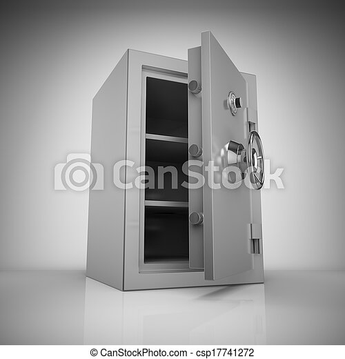Bank safe - csp17741272