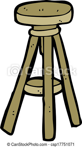 Vectors Illustration of cartoon stool csp17751071 - Search ...