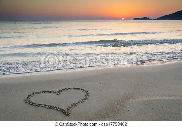 Love at sunrise - csp17753402
