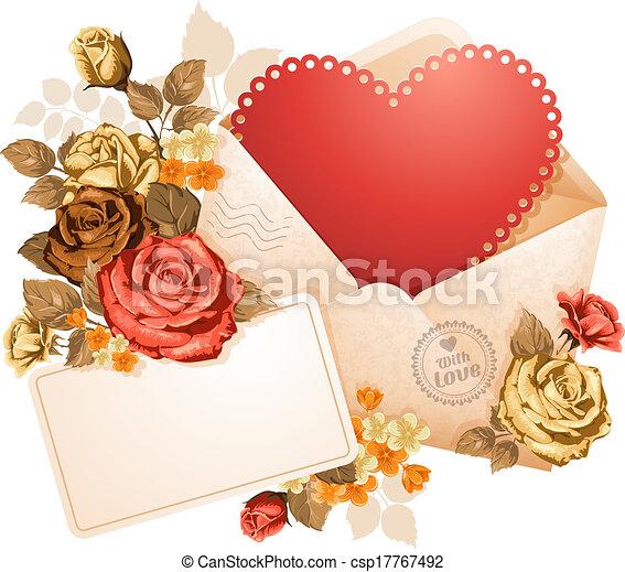 Congratulation on Valentine's Day - csp17767492