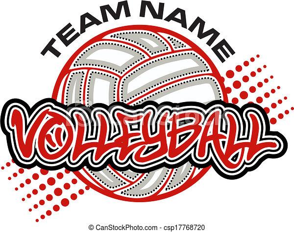 volleyball design - csp17768720
