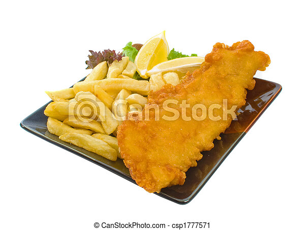 Fish and chips - csp1777571