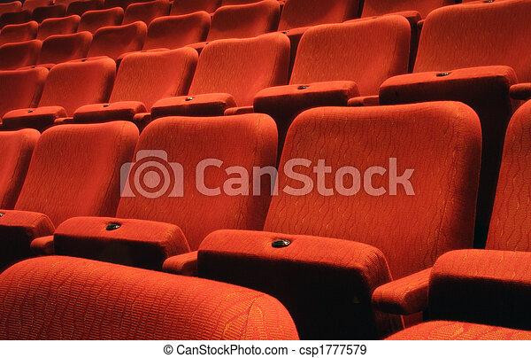 Theatre Seats - csp1777579