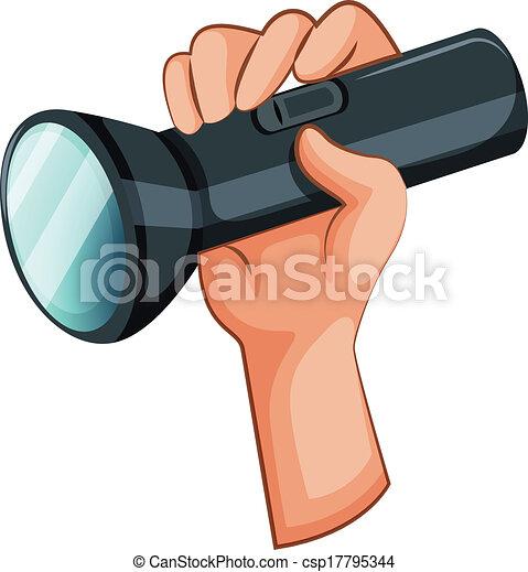 Taschenlampe clipart  Taschenlampe Lizenzfreie Vektor Clip Art. 5.899 Taschenlampe ...