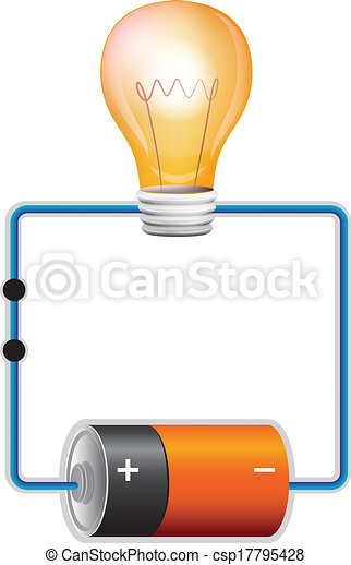 Vector Illustration of Circuit - Illustration of an ...