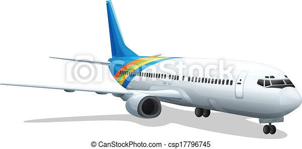 passenger plane - csp17796745
