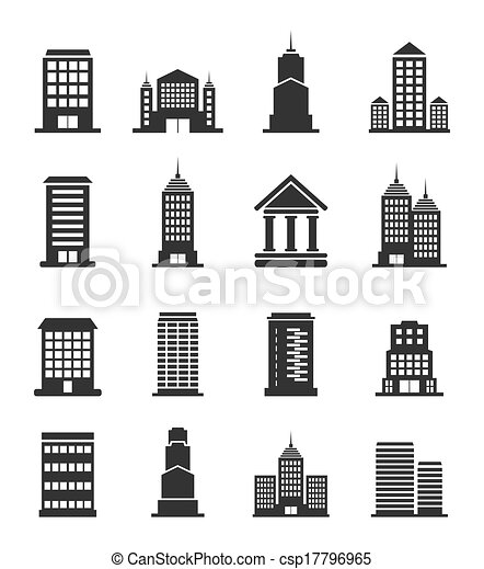 Building office an icon - csp17796965