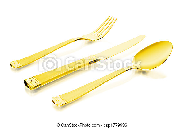 gold flatware - csp1779936