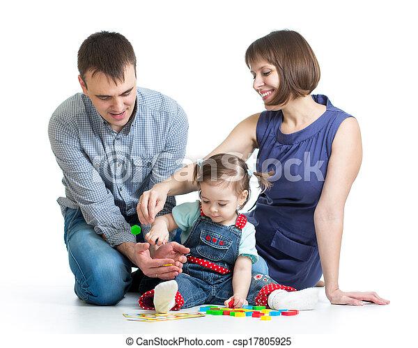 happy family play toys - csp17805925