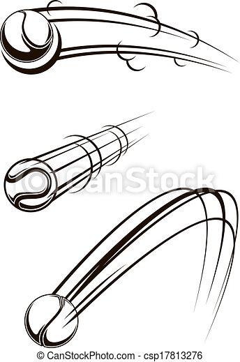 illustrations vectoris u00e9es de balle  tennis  air  par Speed Line Clip Art EKG Line Graphic