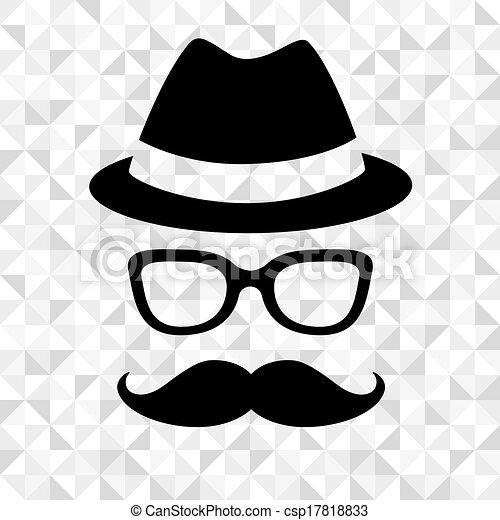 Hipster man - csp17818833