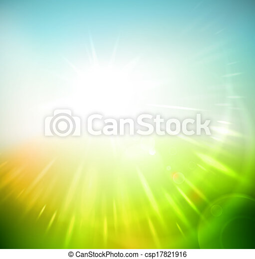 Vector - Spring abstract background