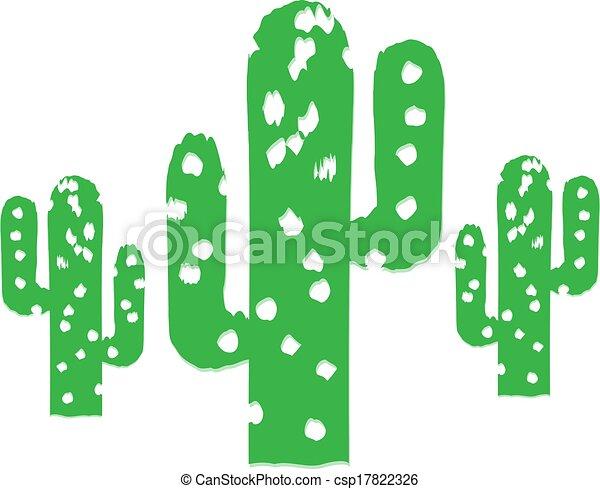 Cactus Trees - csp17822326