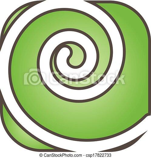 Green Swirl Logo
