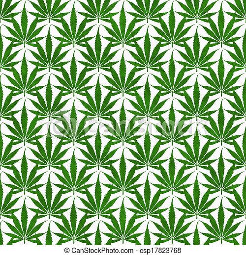 weed leaf template - stock illustration of green marijuana leaf pattern repeat