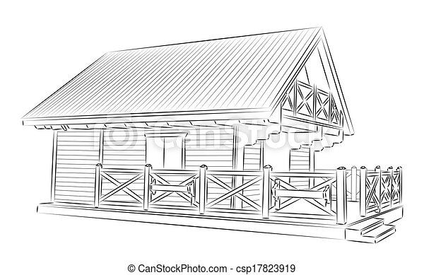 Wooden House - csp17823919