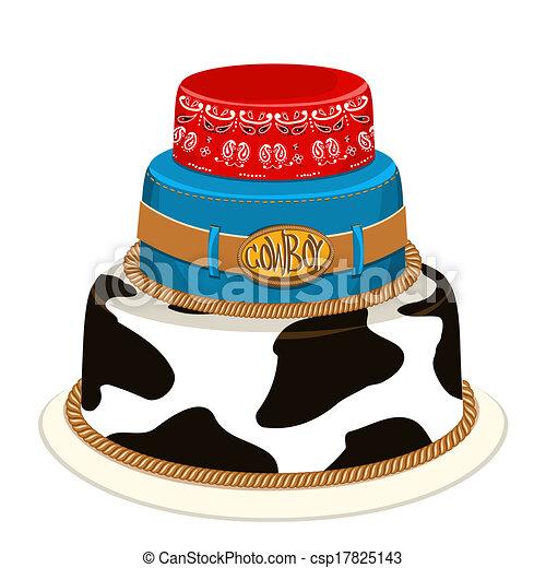 Cowboy Birthday Clip Art