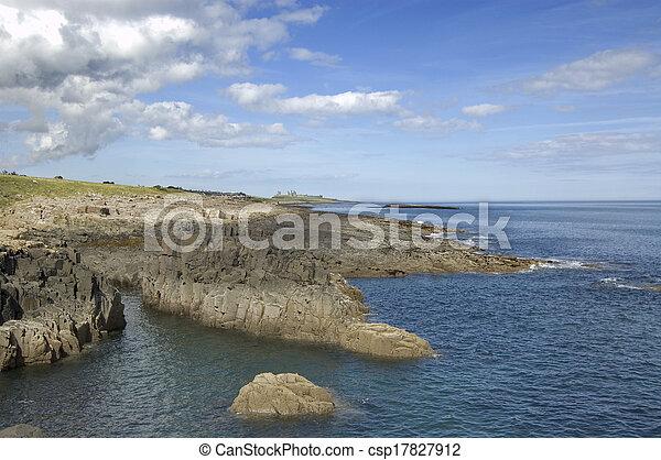 Coastline to castle - csp17827912