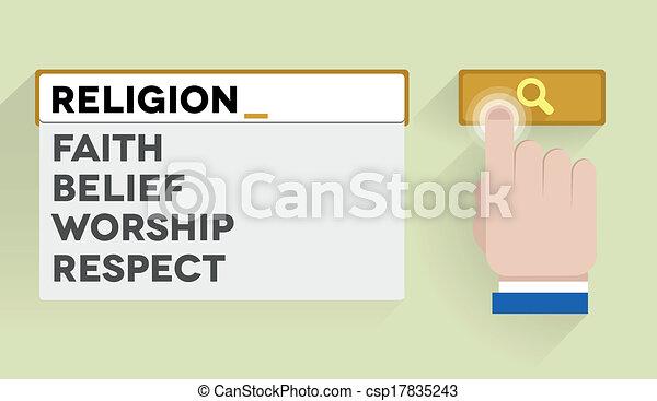 search religion - csp17835243