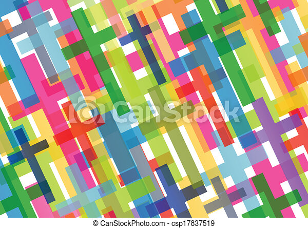 Christianity religion cross mosaic concept abstract background vector illustration for poster - csp17837519